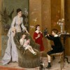 Albert Roosenboom (1845-1878) Кукольный театр