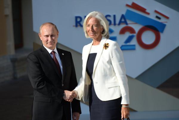 Путин-и-Кристин-Лагард