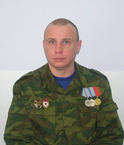 Павел Зябкин Чечня Украина 166 омсбр