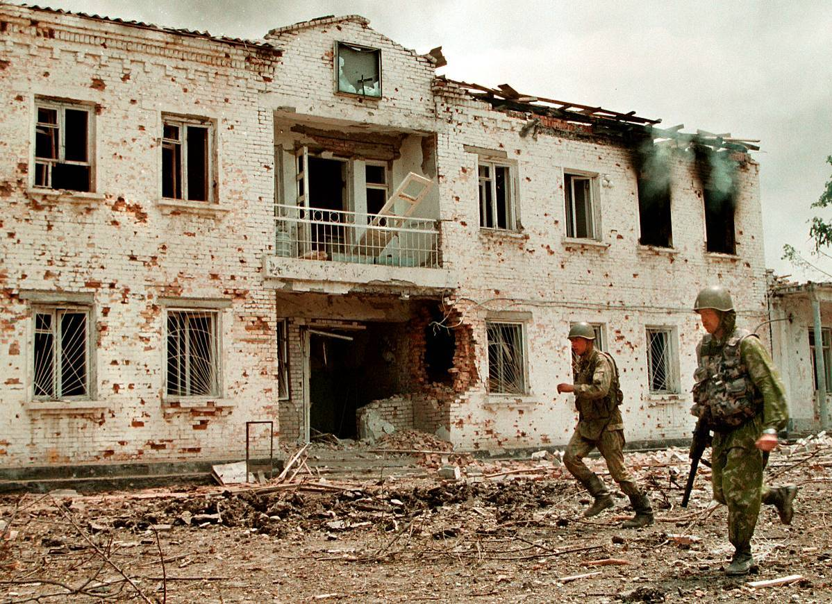 ШТУРМ ЦЕМЕНТНОГО ЗАВОДА. ЧИРИ-ЮРТ 324 полк