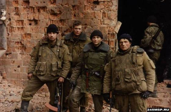 245 полк Чечня