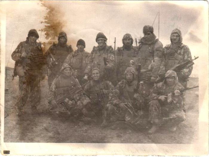 Разведчики 166 бригады Чечня