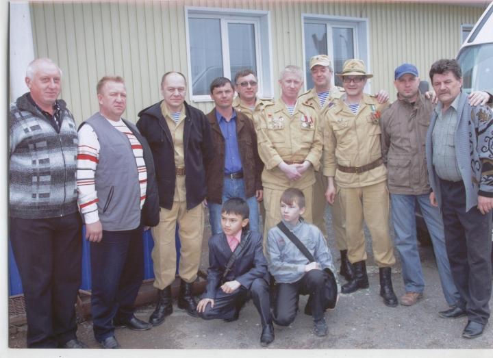 5 Сергей с ветеранами Афганцами