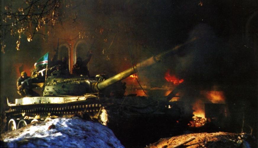 Чистилище Атака Чеченского танка