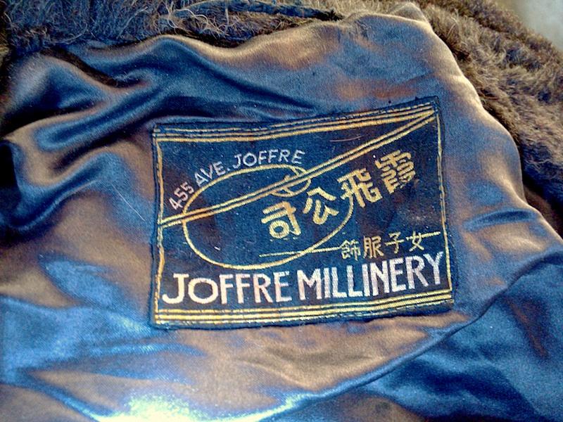 Joffre Millinery