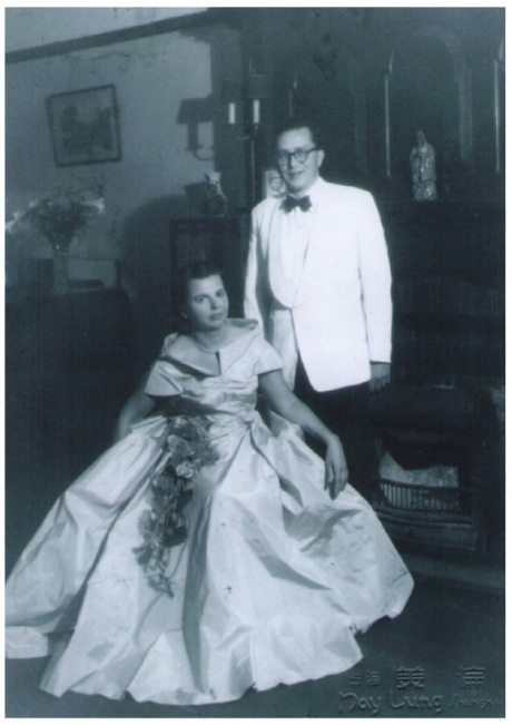 Smolnikoff and Wife in 1953