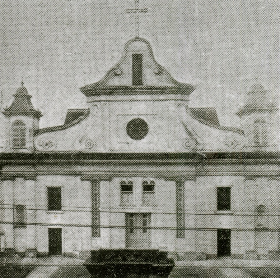 Dongjiadu Cathedral front view before 1949 MGTP.jpg