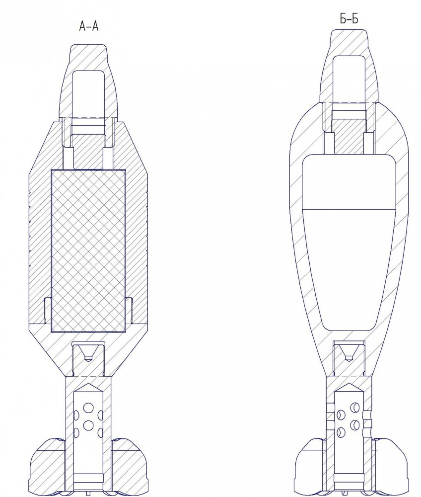 82-мм мины 1936г и ее современная модификация