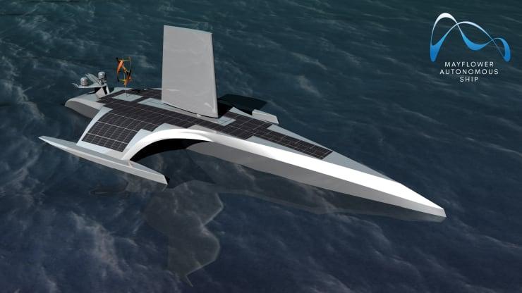 Mayflower Autonomous Ship, MAS