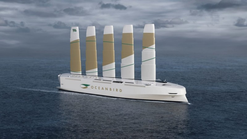"""Oceanbird will be built with the telescopic """"wing sails"""" of the tallest ever"""