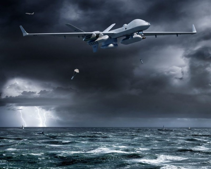 General Atomics MQ-9B is in development for maritime use.