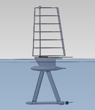 Gen6 Autonomous Unmanned Semi-Submersible Vessel