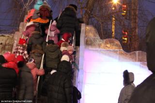 Ледовый городок Омск 2012