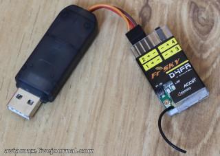 Frsky d4fr usb ppm joystick interface