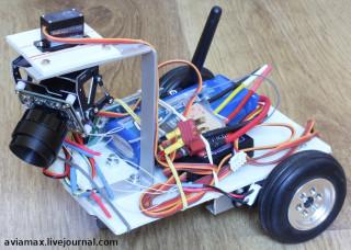 fpv 3-wheel robot