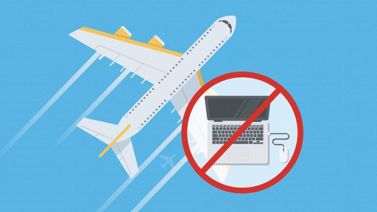 Запрет на перевозку электроники
