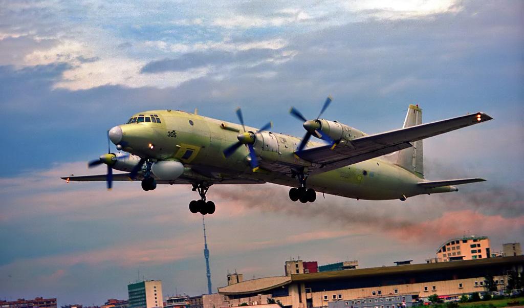 Последний взлет с Ходынки Ил-38СД