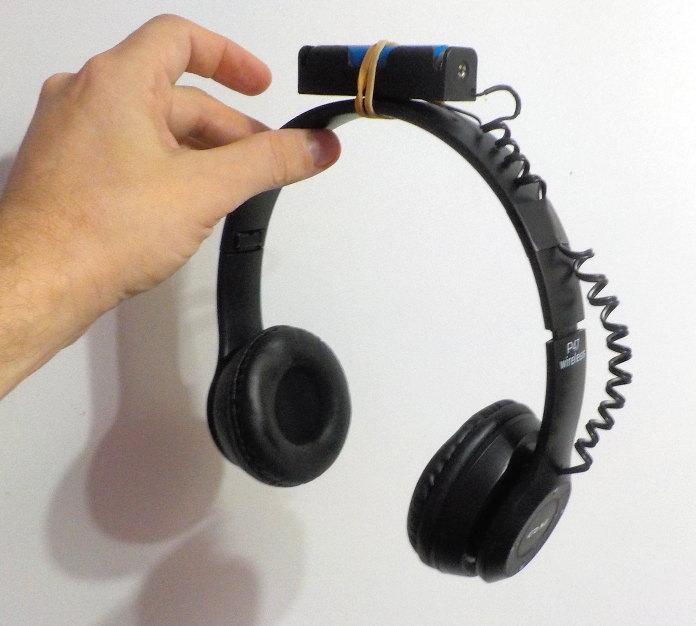 P47 bluetooth headphones battery mod