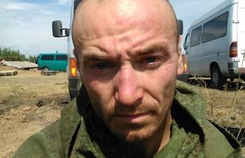 """Пленные """" расейские херои"""" у Амвросиевки"""