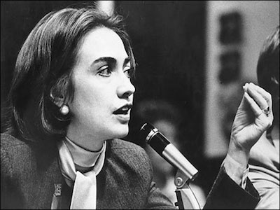Хиллари Клинтон. Карьера hi3