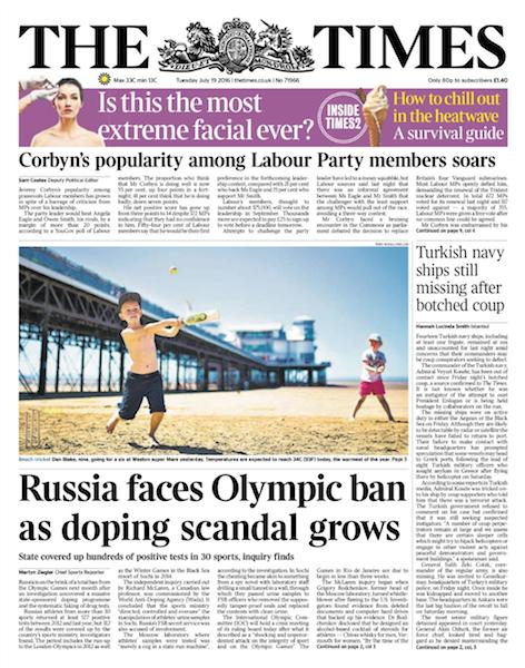 WADA призывает отстранить Россию от Олимпиады-2016 - Цензор.НЕТ 4090