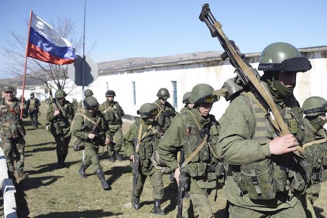 Все идет по плану. На очереди - Афганистан-2 russian-soldiers-in-syria