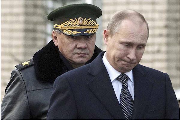 Шойгу считает, что Россия вернулась в 1937 год