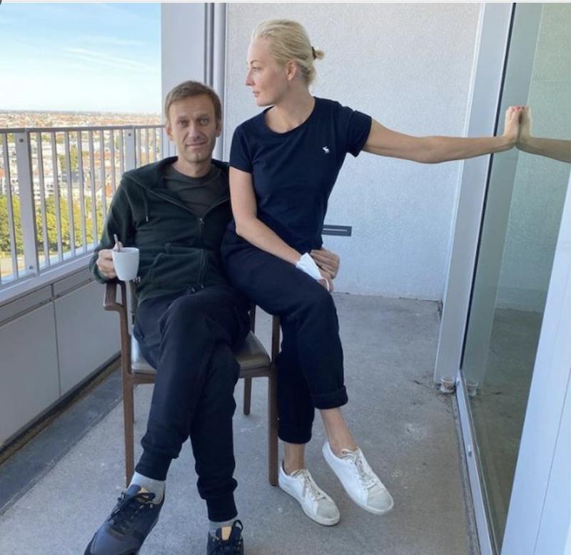 Алексей Навальный. Пост про любовь