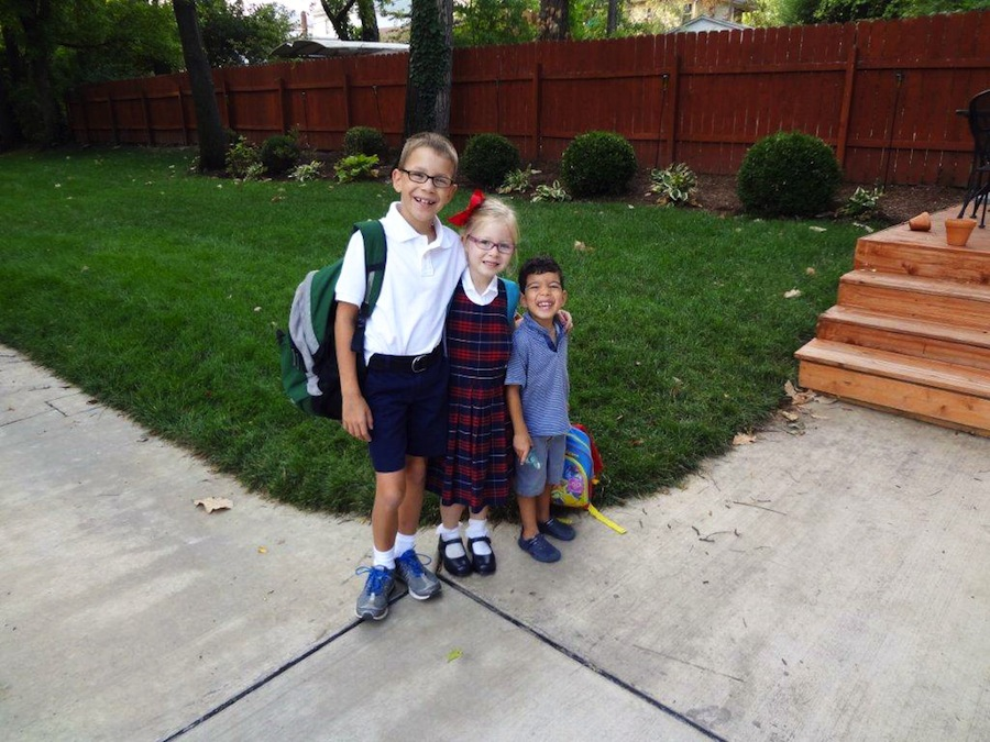 Three-Kids-First-Day-of-School