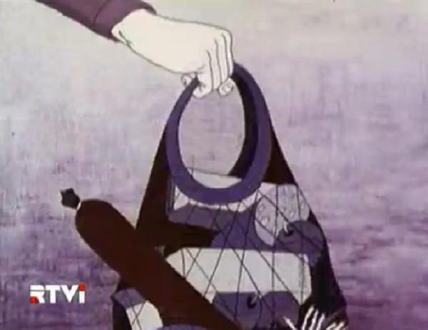 Описание одного рабочего дня обыкновенной женщины. Союзмультфильм, 1987 г.