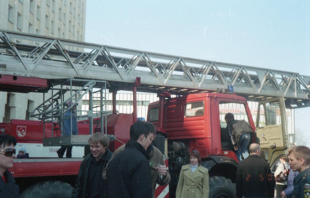 Пожарный праздник в Мурманске, 2008 выставка