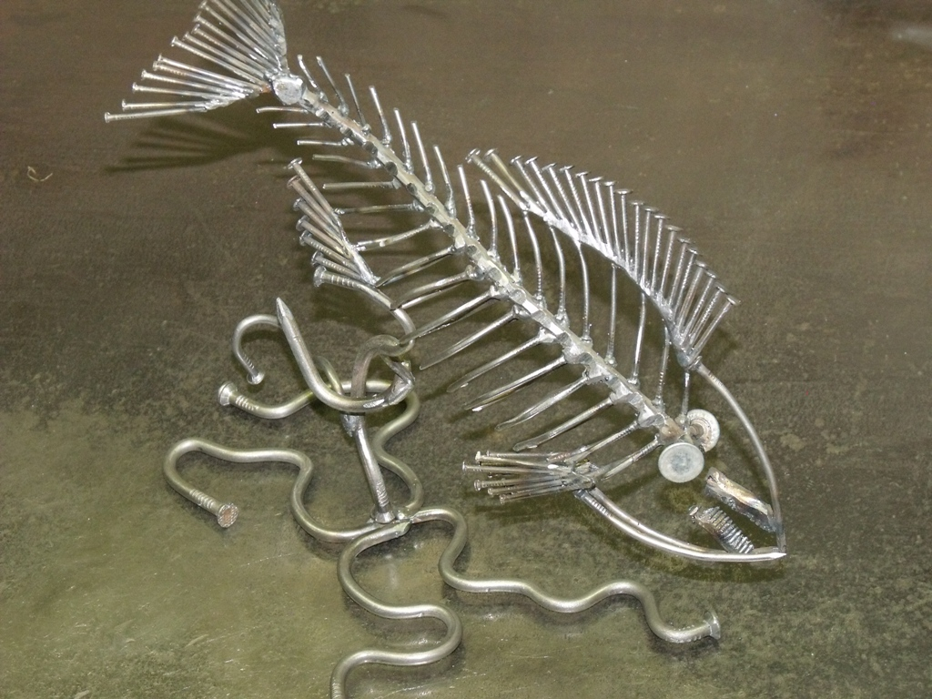 AVPROF MetalArt fish 18