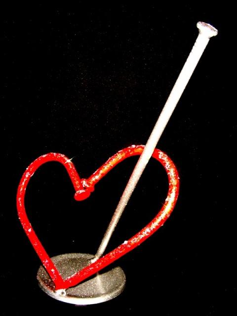 AVPROF Metal Art heart