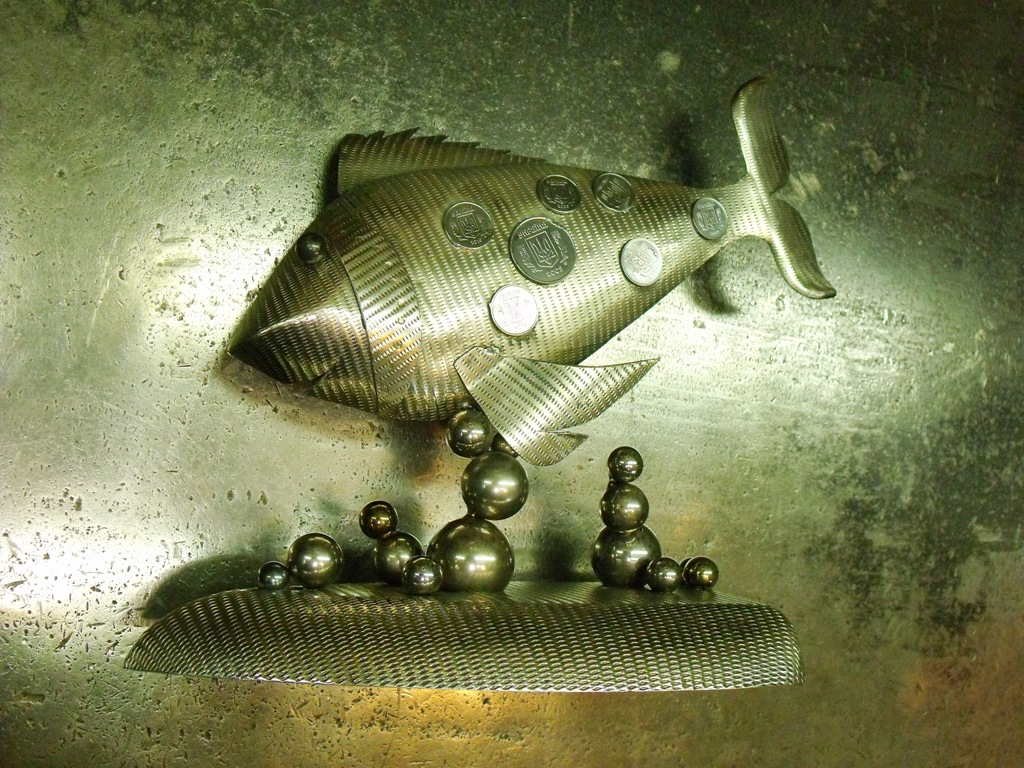 AVPROF MetalArt fish 9