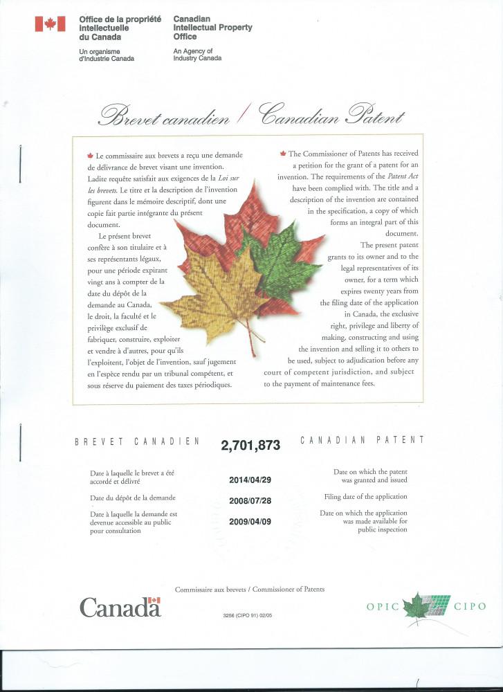 Patenr_Kanada