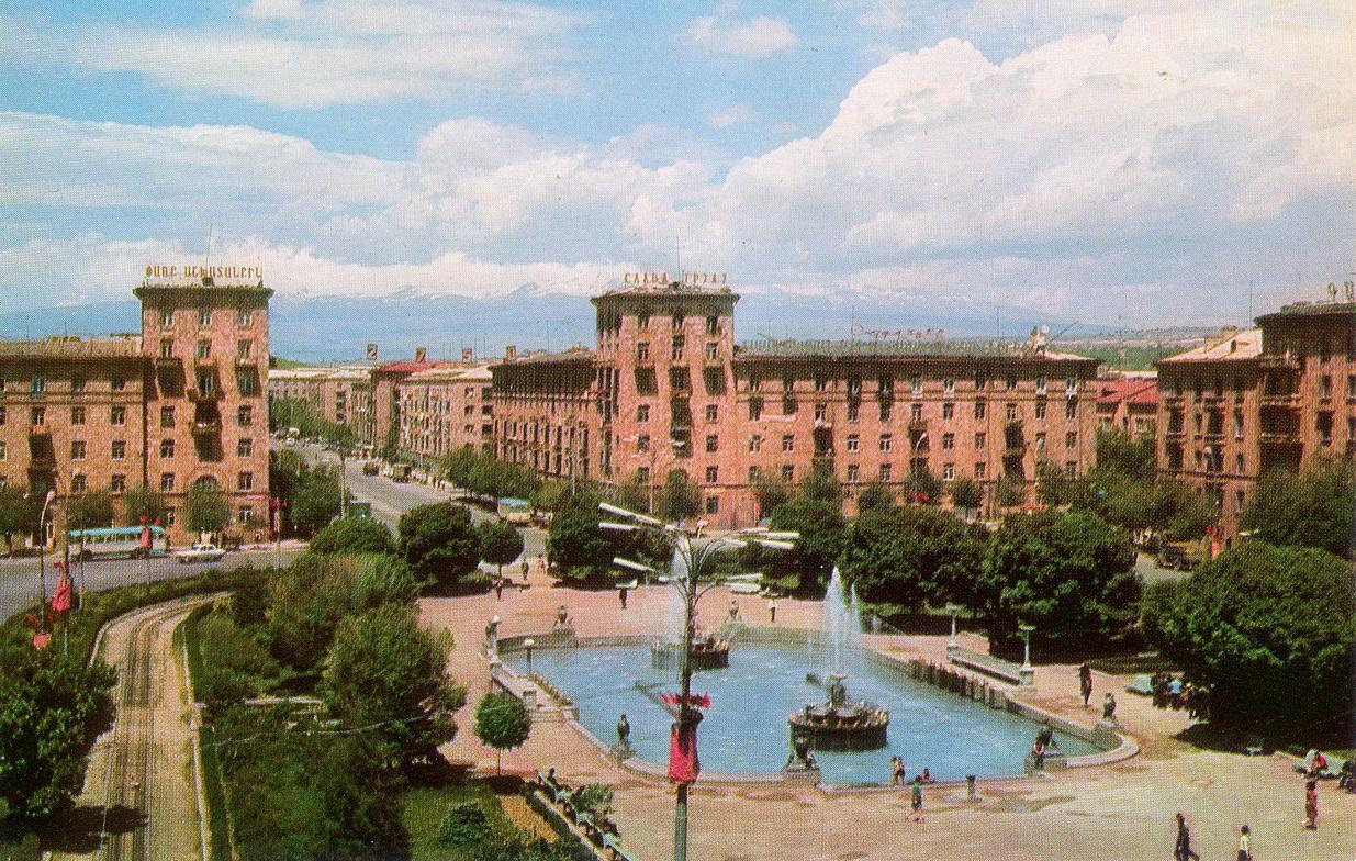 Erevan - Ploschad Spandaryana_resize