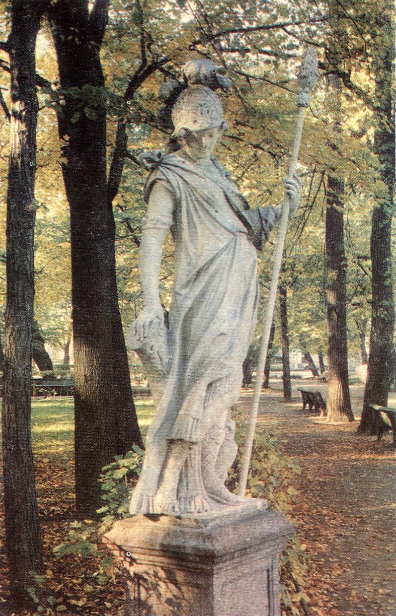 LEtniy sad - Statuya Minerva_resize