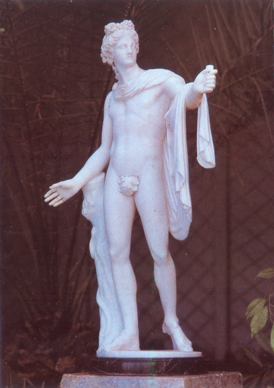 Alupkinskiy dvorets - Skulptura Apollon_resize