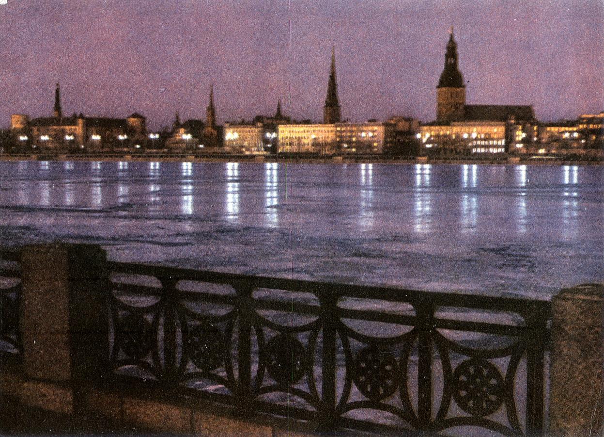 Riga - Vid na Komsomolskuyu naberezhnuyu_resize