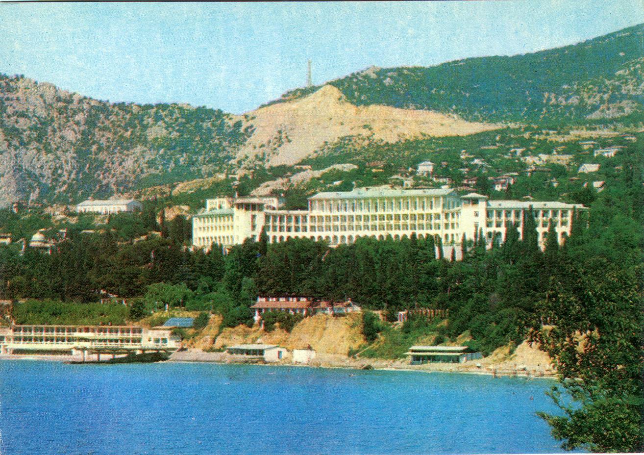 Krym - Simeiz. Sanatoriy im XXII_resize