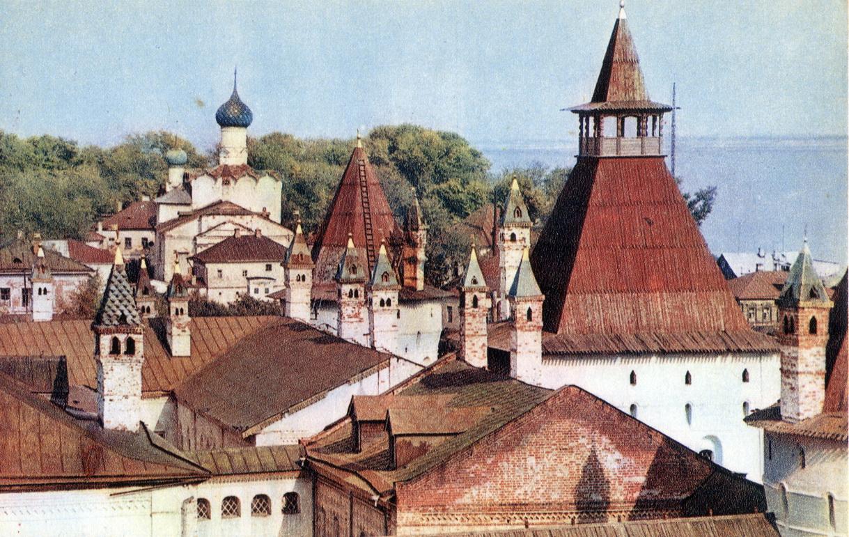 Rostov - Vid sverhu na Kreml_resize