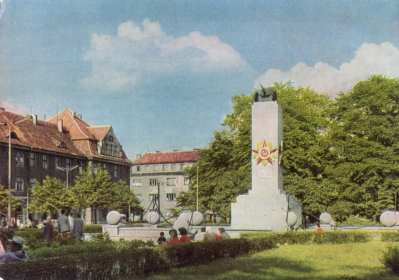 Litva - Klaypeda. Pamyatnik_resize