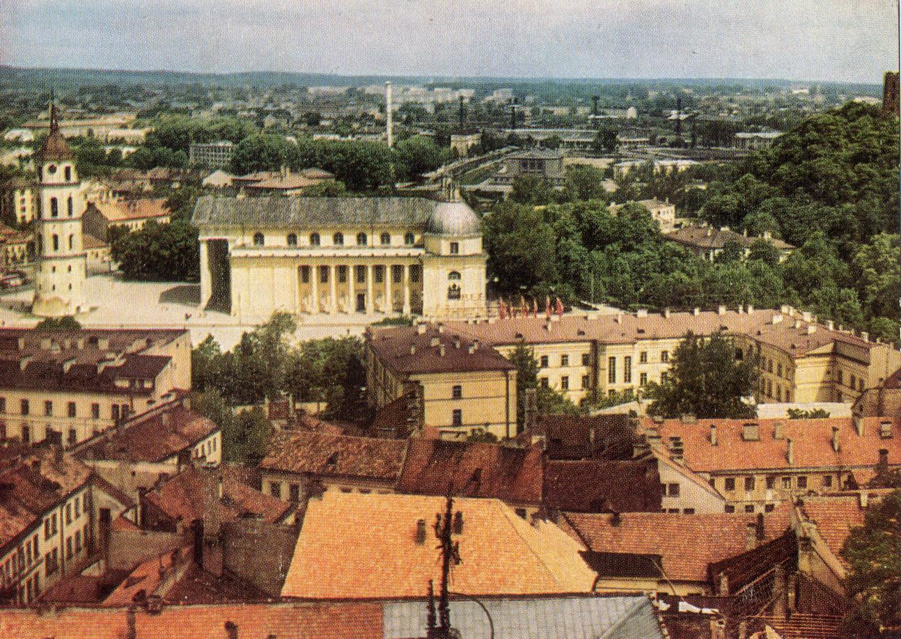 Litva - Vilnus. Panorama goroda_resize