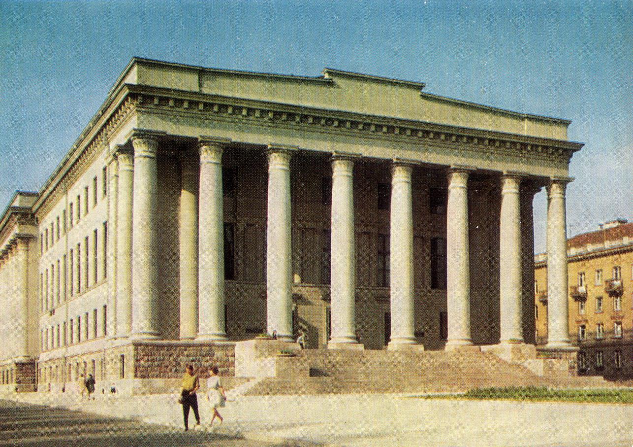 Litva - Vilnus. Respublikanskaya biblioteka_resize