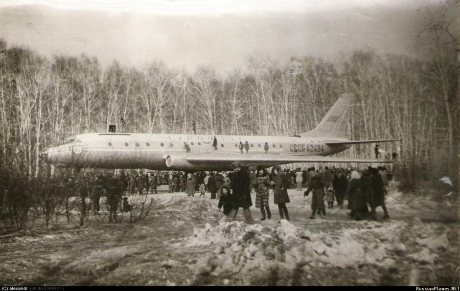 Tu-104 - Березовая роща