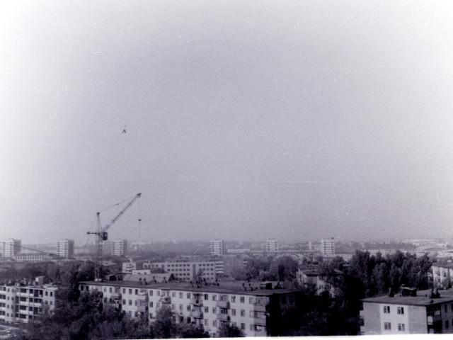 Вид на Челябинск с Курчатова 23