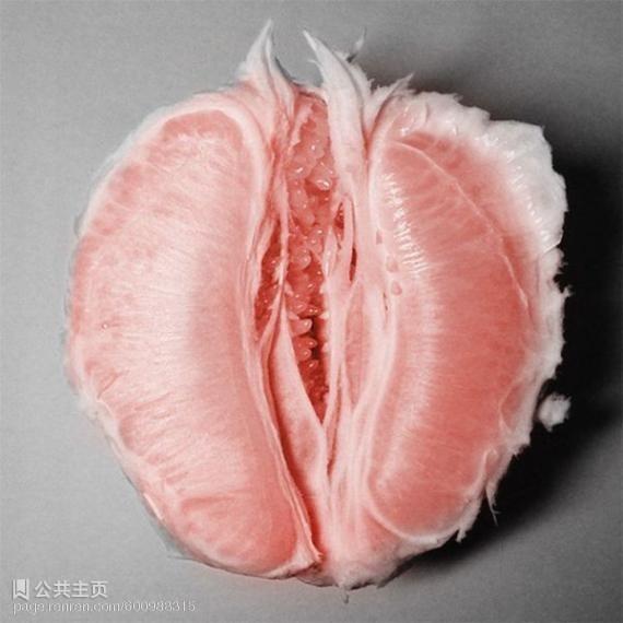 фото клитора с фруктами