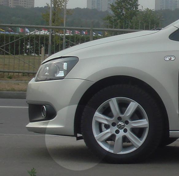 Клиренс нового Polo седан