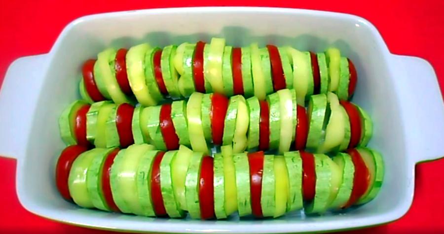 Как сделать из КАБАЧКОВ ароматную ЗАПЕКАНКУ с овощами