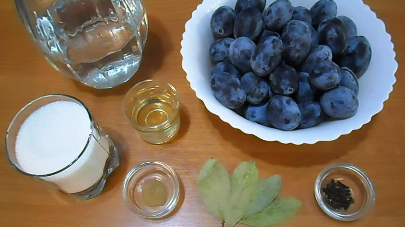 Как сделать СЛИВЫ в пряном маринаде - вкусная ЗАКУСКА на ЗИМУ